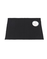 Medium-Sized Memory Foam Bath Mat in Black by