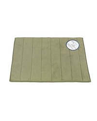 Medium-Sized Memory Foamed Bath Mat in Sage by