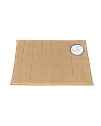 Medium-Sized Memory Foam Bath Mat in Linen by