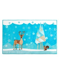 Forest Friends Bathroom Rug by