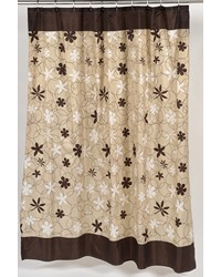 Karen Fabric Shower Curtain by