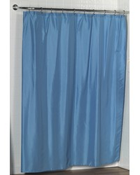 Lauren Dobby Fabric Shower Curtain in Light Blue by