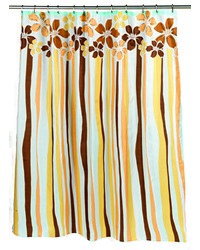Mandy Fabric Shower Curtain by