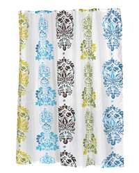 Olivia Fabric Shower Curtain by