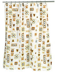 Patty Fabric Shower Curtain by