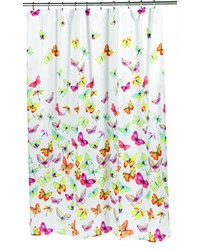 Shannon Fabric Shower Curtain by