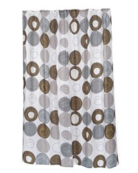 Extra Long Madison Fabric Shower Curtain Size 70 Wide x 96 Long by