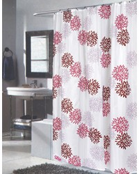 Extra Long Emma Fabric Shower Curtain by