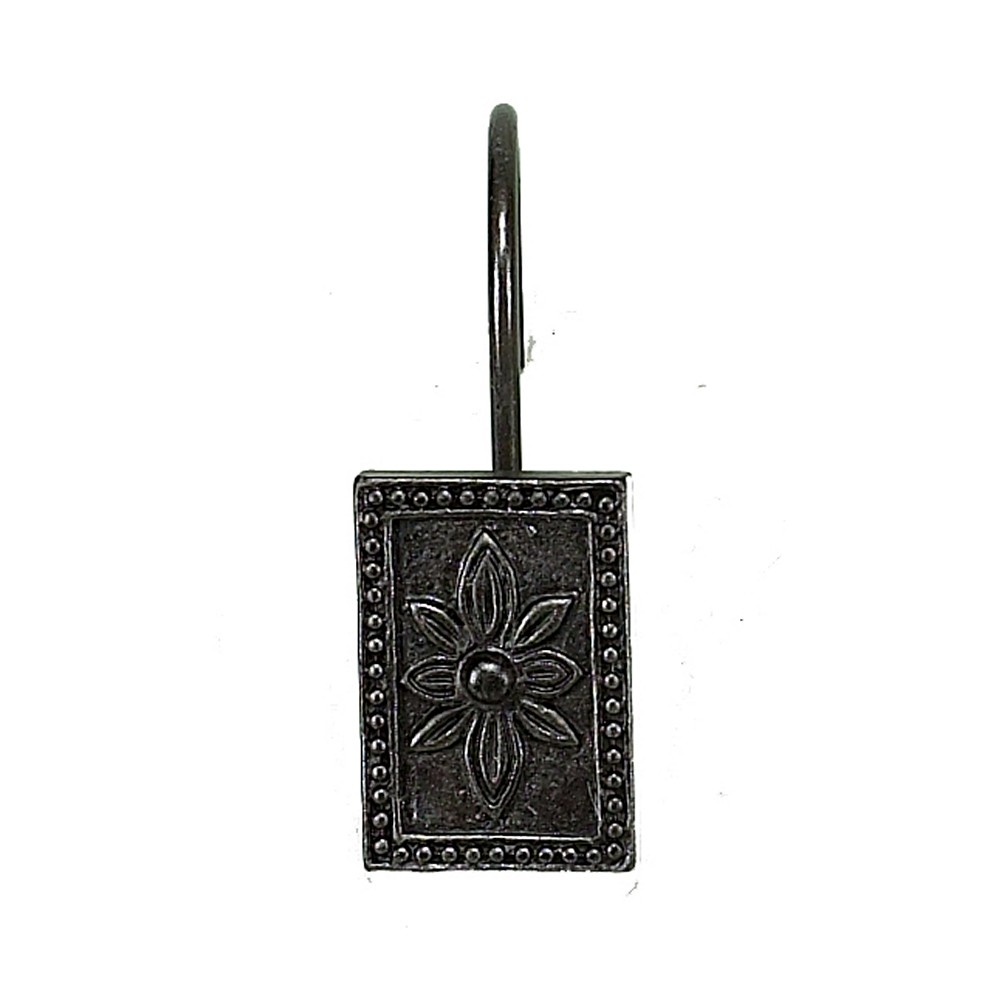 Carnation Home Fashions Inc Carlisle Resin Shower Curtain Hooks In Oil Rubbed Bronze