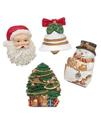 Christmas Tyme Resin Shower Curtain Hooks by