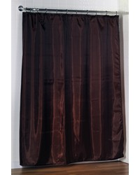 Standard-Sized Polyester Fabric Shower Curtain Liner in Brown by