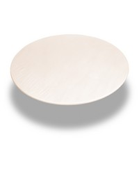 Ivory  60 Inch Round Fitted Vinyl Tablecloth Ivory by