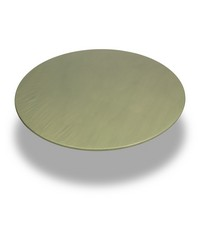 Sage  60 Inch Round Fitted Vinyl Tablecloth Sage by