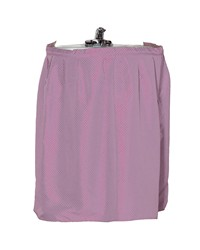 Lauren Diamond-Piqued Polyester Sink Drape in Rose by