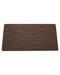 Large Slip-Resistant Rubber Bath Tub Mat in Brown by