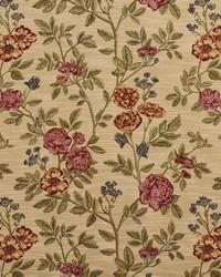 Beige Large Print Floral Fabric  1980 Ecru Bouquet