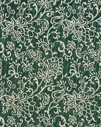 Green Classic Paisley Fabric  Alpine/garden 2601