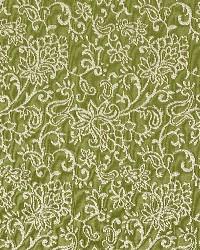 Green Classic Paisley Fabric  Fern/garden 2604