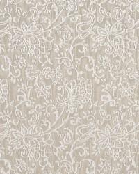 Brown Classic Paisley Fabric  Linen/garden 2605