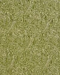 Green Classic Paisley Fabric  Fern/paisley 2631
