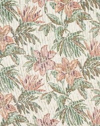 Beige Large Print Floral Fabric  6863 Sand/Tropic