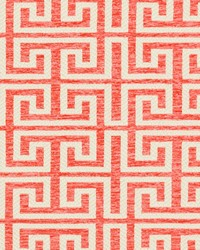 White Shades Of Coral Fabric Charlotte Fabrics CB800-125