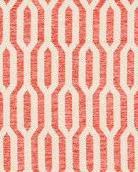 White Shades Of Coral Fabric Charlotte Fabrics CB800-126