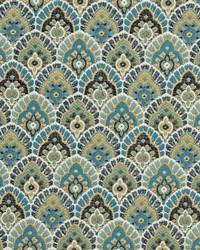 Yellow Shades Of Teal Fabric Charlotte Fabrics CB800-77