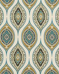 Blue Shades Of Teal Fabric Charlotte Fabrics CB800-80