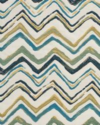White Shades Of Teal Fabric Charlotte Fabrics CB800-82