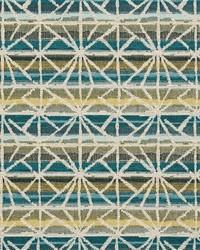 White Shades Of Teal Fabric Charlotte Fabrics CB800-85