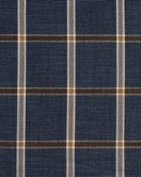D141 Indigo Windowpane by