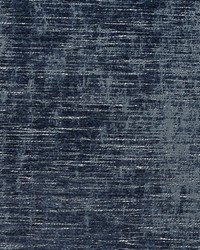 Blue Chenille Textures Fabric  D669 Pacific