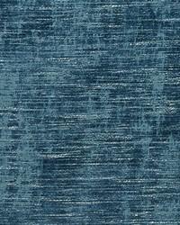 Blue Chenille Textures Fabric  D682 Lagoon