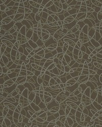 Charlotte Fabrics D931 Squiggles/Chocolate Fabric