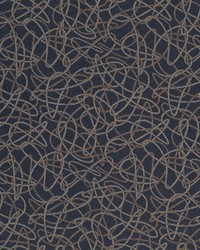 D933 Squiggles/Navy by