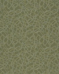 Charlotte Fabrics D934 Squiggles/Sage Fabric