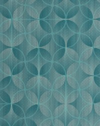 Blue Contract Vinyl Fabric  V273 Lagoon