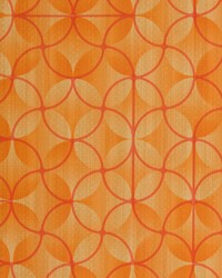 Orange Contract Vinyl Fabric  V277 Sunset