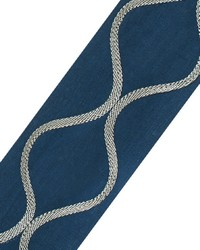 Ogee Applique Navy by