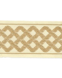 Beige Gimp Trim  Aiden Border Rattan