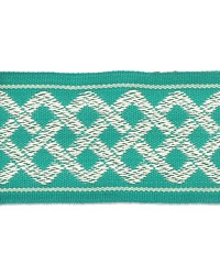 Aiden Border Teal by