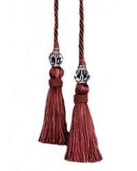 Alchemy Chair Tie Ruby by  Robert Allen Trim
