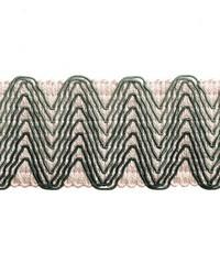 Chevron Band Billiard Green by  Robert Allen Trim