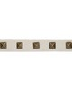 Robert Allen Trim STUDDED TAPE PALE CREAM