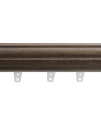 H2561F PECAN 19 by  Fabricut Curtain Rods