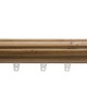 Fabricut Curtain Rods H2561F HONEY MAPLE 21