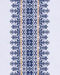 Aztec City Cobalt by