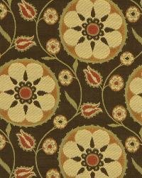 Yellow Suzani Fabric  Flower Park Maize