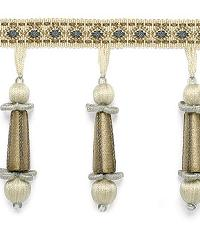 Addington Molded Tassel Fringe Moonstone by  Schumacher Trim